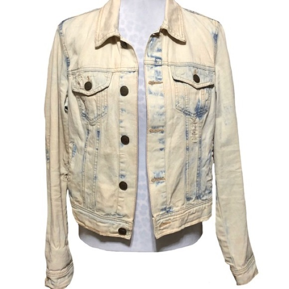 Free People Jackets & Blazers - Free People Acid Wash Jacket - excellent condition